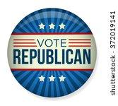 retro vote republican campaign... | Shutterstock .eps vector #372019141