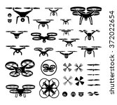 Drones  Vector Illustration...