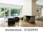 cozy modern flat | Shutterstock . vector #37203955