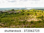 aerial view of the zambezi... | Shutterstock . vector #372062725