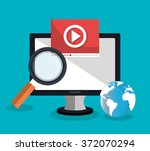 analitycs search information | Shutterstock .eps vector #372070294