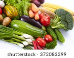 fresh vegetables | Shutterstock . vector #372083299