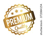 premium quality rubber stamp... | Shutterstock .eps vector #372084154