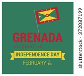 grenada independence day   Shutterstock .eps vector #372087199