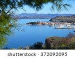 izola  slovenia. old venetian...   Shutterstock . vector #372092095