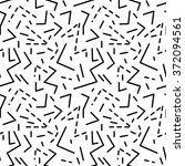 seamless geometric vintage... | Shutterstock .eps vector #372094561