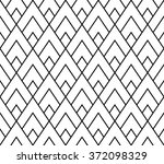 vector modern seamless geometry ... | Shutterstock .eps vector #372098329