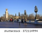 paris  france  18 december 2011 ... | Shutterstock . vector #372114994