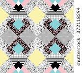 seamless background in modern...   Shutterstock .eps vector #372118294