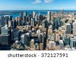Sydney City Aerial View. Sydne...