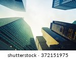 modern skyscraper in the city | Shutterstock . vector #372151975