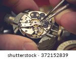 Working On A Mechanical Watch....