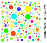bright circles on white... | Shutterstock .eps vector #372160495