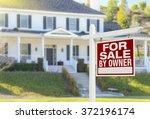 for sale by owner real estate... | Shutterstock . vector #372196174