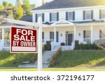 for sale by owner real estate... | Shutterstock . vector #372196177