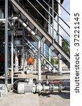 shot of oil loading terminal in ... | Shutterstock . vector #37221145
