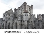 Medieval fortress castle.