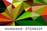 low polygon triangle pattern... | Shutterstock . vector #372246124
