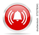 alarm red glossy circle modern... | Shutterstock . vector #372278341