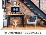 modern industrial creative... | Shutterstock . vector #372291631