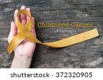 childhood cancer awareness gold