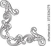 the retro victorian corner... | Shutterstock . vector #372326275