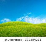 green spring landscape | Shutterstock . vector #372354211