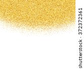 vector gold glitter abstract... | Shutterstock .eps vector #372372361