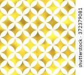 gold glittering foil geometric... | Shutterstock .eps vector #372379081