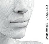 3d head | Shutterstock . vector #372386215
