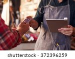 credit card reading device...   Shutterstock . vector #372396259