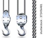 Vector Crane Hooks And Steel...