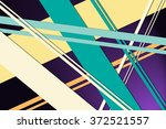 random angled stripes in layers ... | Shutterstock . vector #372521557