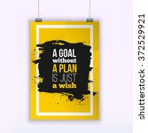 motivation business quote a...   Shutterstock .eps vector #372529921