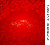 vector illustration or greeting ... | Shutterstock .eps vector #372540541