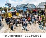 san francisco  usa   june 14 ... | Shutterstock . vector #372543931
