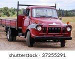 Old Vintage Flatbed Lorry...