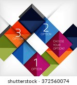 paper style design templates ... | Shutterstock .eps vector #372560074