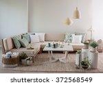 Corner Sofa Interior Pillow...