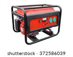 gasoline generator under the... | Shutterstock . vector #372586039