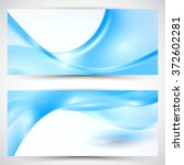 abstract banner background... | Shutterstock . vector #372602281