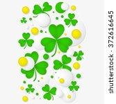 vector vertical banner with... | Shutterstock .eps vector #372616645