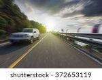 winding road background | Shutterstock . vector #372653119