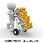 3d people   man  person and...   Shutterstock . vector #372687355