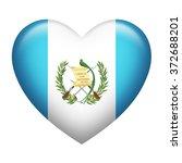 heart shape of guatemala flag... | Shutterstock . vector #372688201