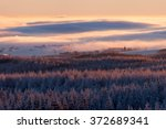 winter landscape during the... | Shutterstock . vector #372689341