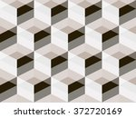 abstract geometric isometric... | Shutterstock .eps vector #372720169