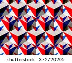 abstract geometric isometric... | Shutterstock .eps vector #372720205