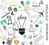 lightbulb ideas concept ...   Shutterstock .eps vector #372737164
