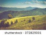 beautiful mountain landscape.... | Shutterstock . vector #372825031